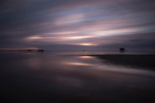 Abenddämmerung am Strand von Sankt Peter Ording II