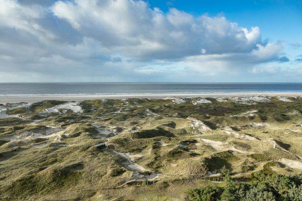 Ausblick auf die Amrumer Dünen und die Nordsee II