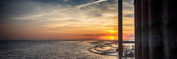 Sonnenuntergang auf der Nordsee II