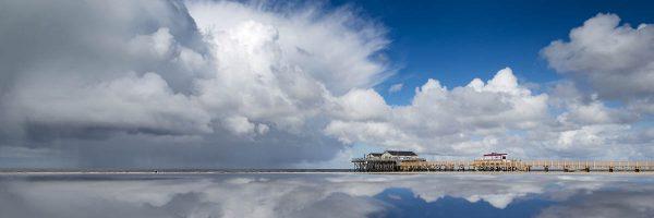Bilder & Fotografien von der Strandbar 54 Grad Nord Wetterkante vor der Strandbar 54 Grad Nord in SPO