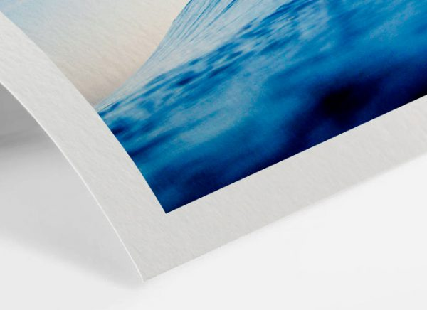 Landschaftsfotot auf feinstem matten Papier