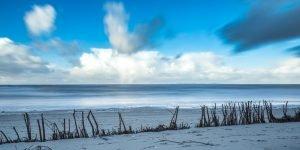 Nordsee Brandung in der Langzeitbelichtung