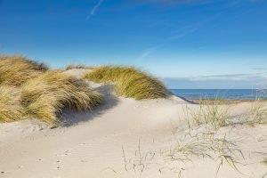 Blick über den Sandstrand zum Meer - MK_2018-43-_1MK0935