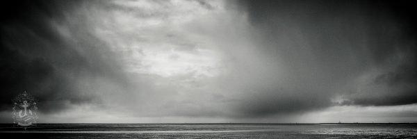 Wetterkante über Westerheversand
