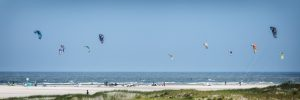 Kite, Surf, Nordsee, Wasser, Meer, Drachen,