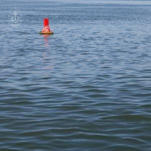 Nordsee vor Hooge - Tonne No. I