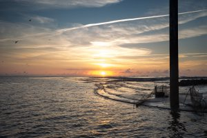 Eidersperrwerk – Hafenmündung No. III
